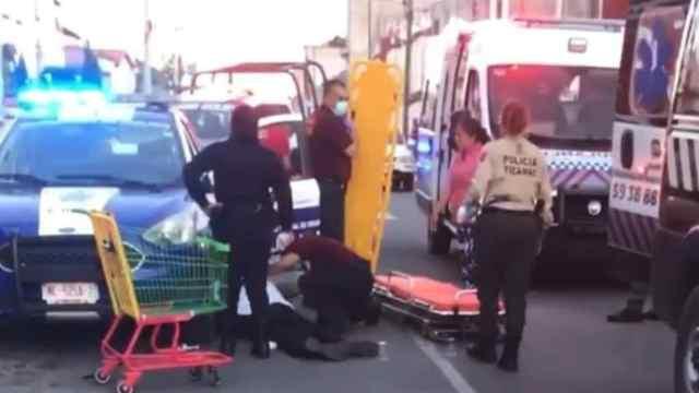 Reportan cuatro muertos y un herido tras balacera en centro comercial de Tecámac.