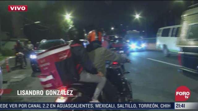 retiran bloqueo en carretera mexico toluca