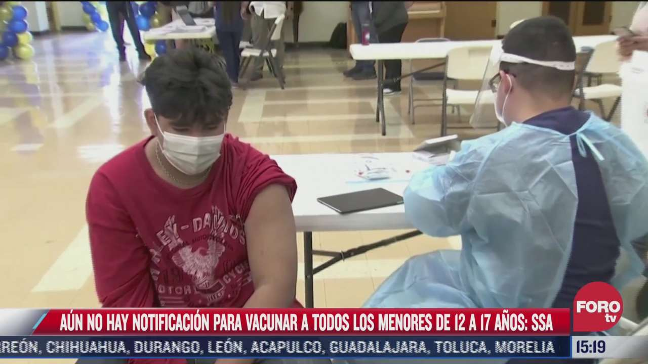 secretaria de salud revisara resolucion de juez sobre vacunar a menores