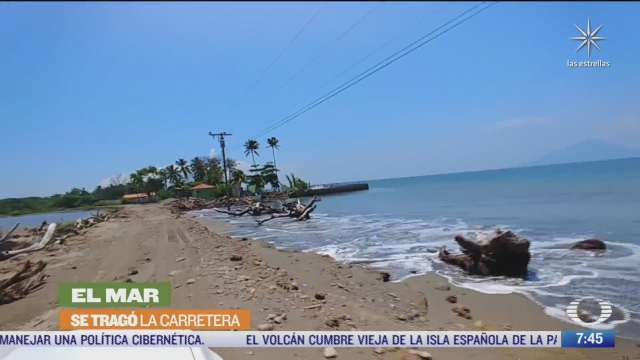 serie especial de despierta sobre cambio climatico nivel del mar amenaza a localidad en honduras