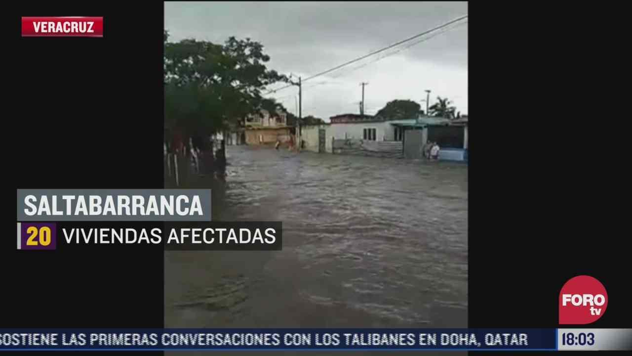 severas inundaciones dejan danos en veracruz