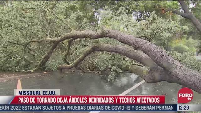 tornado azota missouri estados unidos