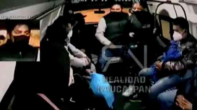Video: Captan nuevo asalto al transporte público en Naucalpan.