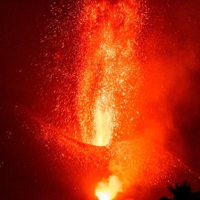 No vislumbran el final de la erupción de volcán en La Palma