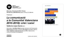 la comunicacio a la comunitat valenciana