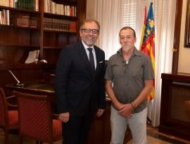 jose marti amb alcalde de cortes de arenoso