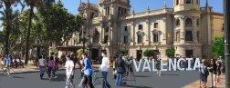 vianants plaça ajuntament de valencia