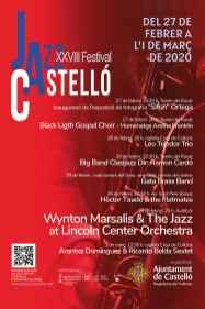 130220 cartell XXVIII Festival de Jazz de Castelló