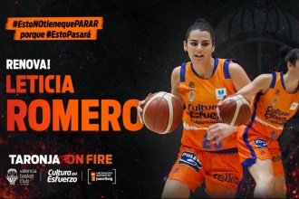 leticia romero renova valencia basket
