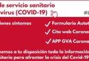 La Comunitat Valenciana suma 271 casos de coronavirus i 358 altes en l'ultima jornada