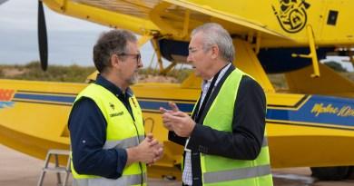 José Martí destaca l'aposta de l'aeroport de Castelló per reforçar la seua activitat industrial per a activar l'economia dels municipis de l'entorn