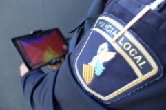 dron termic policia local borriana