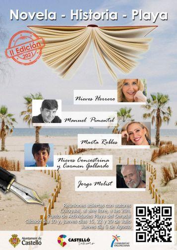 1107-20 Cartel Novela Historia Playa 2021(1)