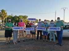 Protesta playa de Nules PP