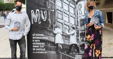 Castelló es prepara per a viure el MUT! més internacional amb 23 representacions a l'aire lliure
