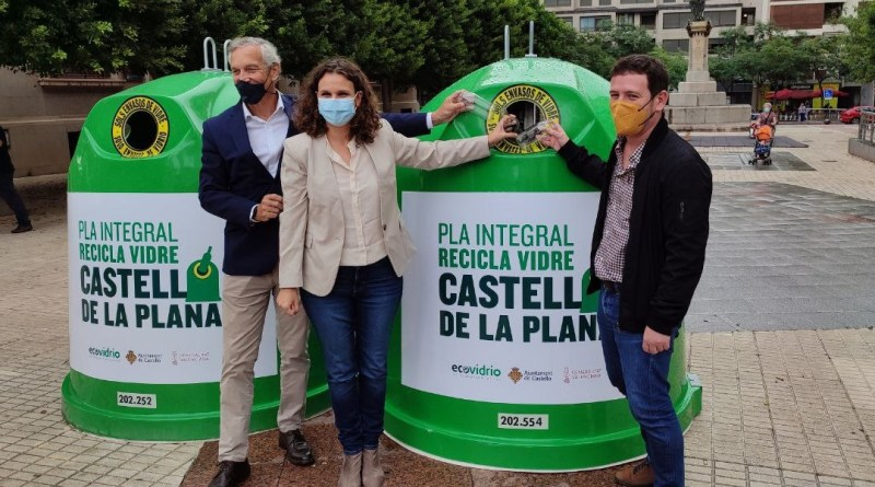 Castelló incrementarà un 30% la recollida de vidre amb una nova aposta pel reciclatge