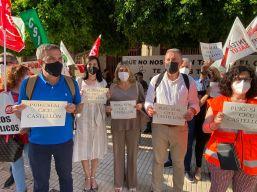 Protesta CICU Castellón