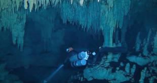 Exploradores revelan la mayor cueva inundada del mundo en el Caribe mexicano