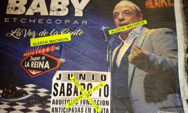 Photo of Cancelan el show de Baby Etchecopar en Rosario por denuncias de «misoginia» y «machismo»