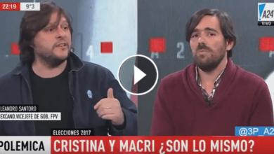 Photo of Santoro durísimo con Del Caño: «Macri gobierna porque la izquierda llamó a votar en blanco»