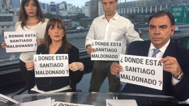 Photo of Hipocresía nivel Dios: Periodistas de Canal 13 salieron a pedir por Santiago Maldonado