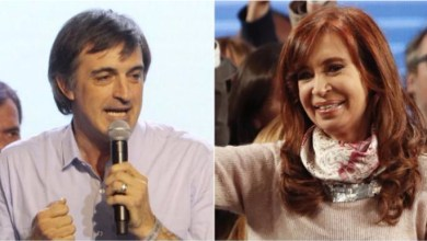 Photo of Primeros datos oficiales: Cristina Kirchner 35,90%, Esteban Bullrich 42,88%