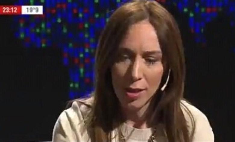 """Photo of María Eugenia Vidal: """"Van a venir meses difíciles"""""""