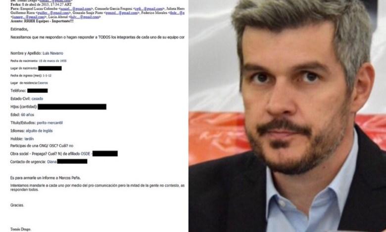 Photo of Los mails que complican a Marcos Peña por el desvío de fondos públicos