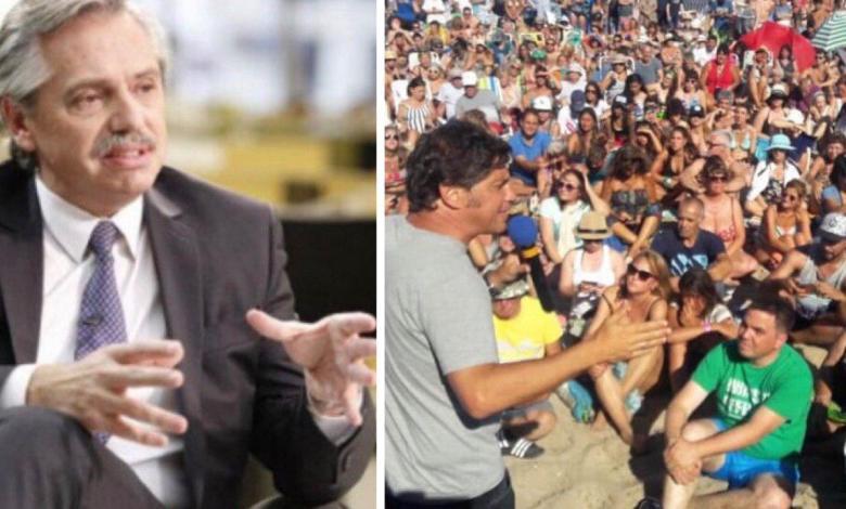 El ex-jefe de gabinete se derritió en elogios para con el diputado opositor Axel Kicillof, posible candidato a la gobernación bonaerense por la resistencia al Régimen macrista.