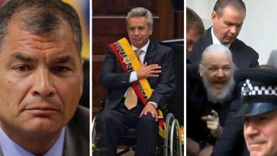 El ex-presidente de Ecuador, el economista Rafael Correa, estalló en Twitter contra el actual mandatario del país, Lenín Moreno, protagonista durante la jornada, de uno de los actos de traición, digno de las páginas de la infamia mundial, la entrega del ciberactivista, Julian Assange (nacionalizado ecuatoriano), a la policía del Reino Unido, probablemente para que sea ejecutado por revelar crímenes de guerra de EEUU.