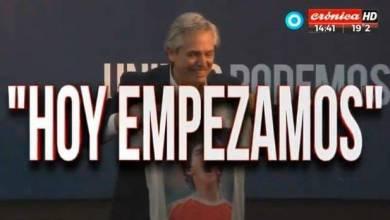 Alberto Fernández, encuadró su arenga centrándose en los niveles de pobreza que azotan al país, y los problemas con la Deuda Externa y el Fondo Monetario Internacional.