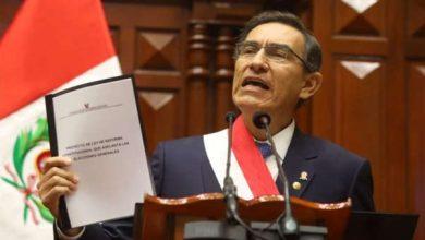 Photo of Perú: Vizcarra propone adelantar las elecciones y finalizar su mandato