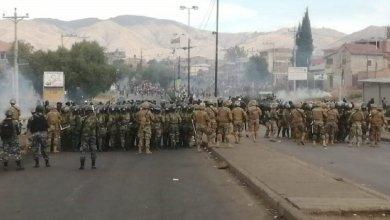 Photo of Brutal represión militar-policial en Cochabamba