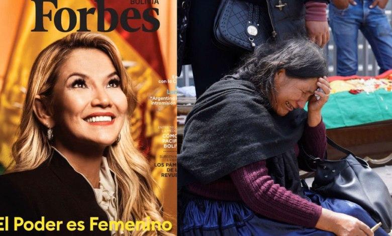 Photo of El desesperado intento de Forbes por lavar la imagen Jeanine Añez