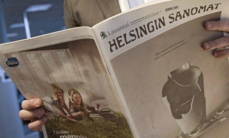 Photo of Periódico más grande de Finlandia publica ilusión óptica para llamar la atención sobre la importancia del distanciamiento social