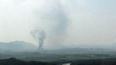 """Photo of """"La destrucción es un mensaje simbólico, pero no de guerra"""""""