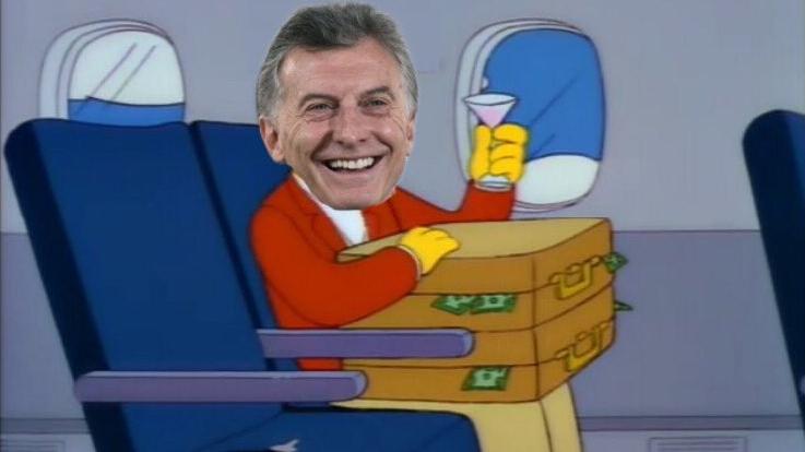 Mauricio Macri se rajó a Suiza y estallaron los memes