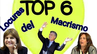 Photo of El Top 6 de locuras del macrismo en la Argentina por Diego en la Lucha
