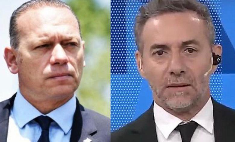 La insólita respuesta de Sergio Berni a Luis Majul