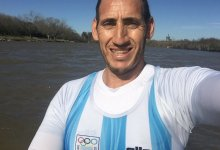 Photo of El remero Ariel Suárez desafió la cuarentena y volvió al agua sin protocolo