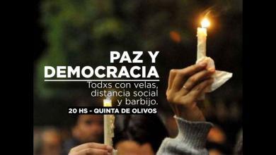 """Photo of Desde el Frente de Todos convocan a marchar por la """"PAZ Y DEMOCRACIA"""""""