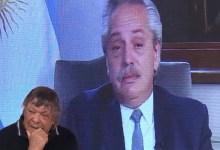 Photo of Alberto Fernández no pudo evitar la emoción al hablar de Diego Armando Maradona