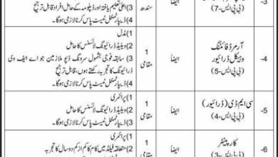 Pak Army Rawalpindi Civilian Jobs 2021