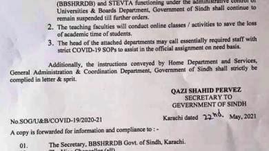 Notification-of-Extension-Closure-Educational-Institutions-Sindh-Province-2021-latest