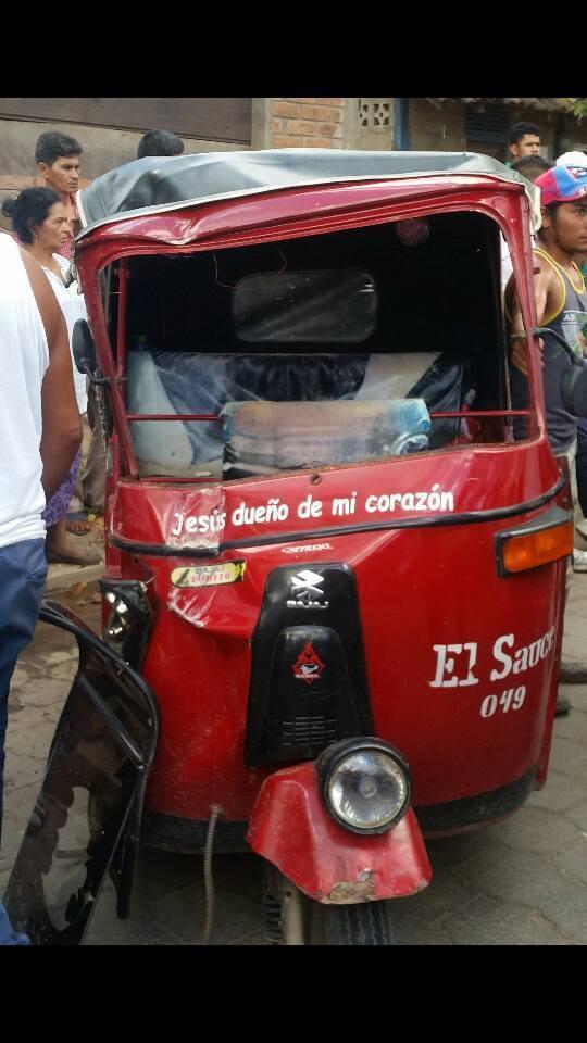 Accidente de Tránsito deja como resultado tres personas lesionadas en el municipio de El Sauce