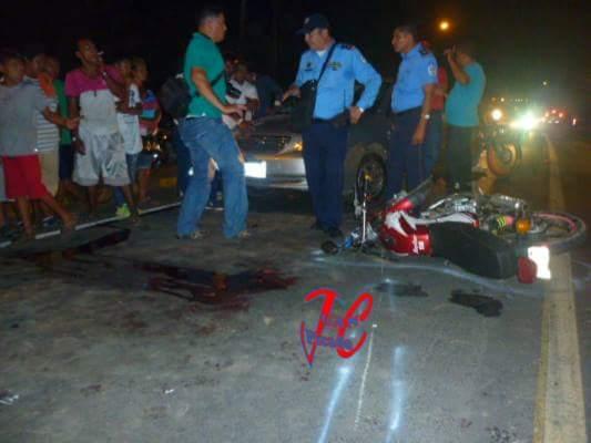 Un joven fallecido y otro grave en accidente de tránsito en León.