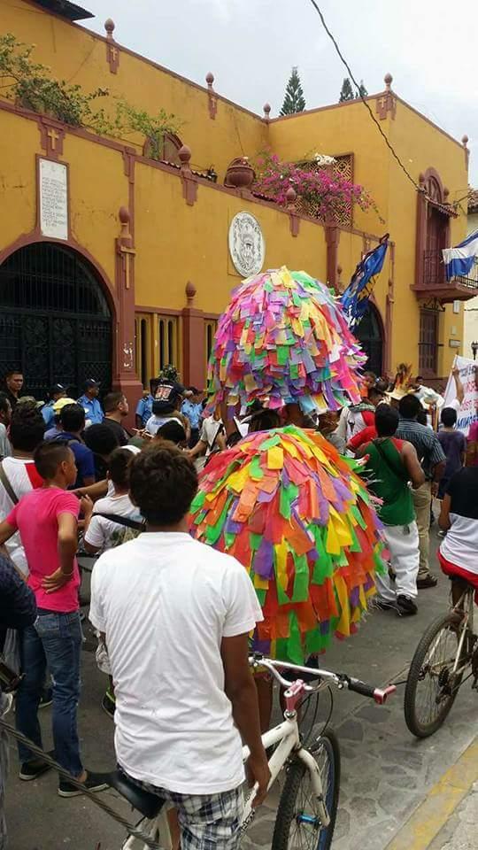 Protestas de sutiabeños por el cambio del recorrido en procesión de San Jerónimo.