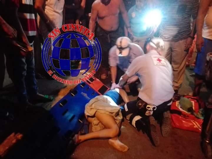 Dos fallecidos en aparatoso accidente de tránsito en la ciudad sos León.