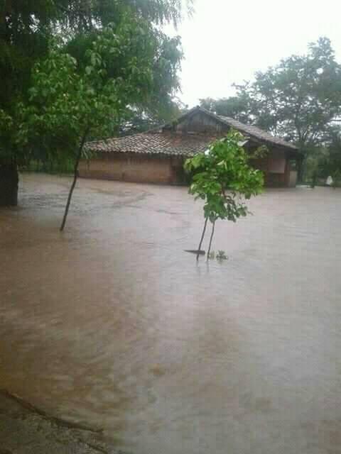 Los Zarzales en el Jicaral inundado y Troilo en León ya tiene afectaciones