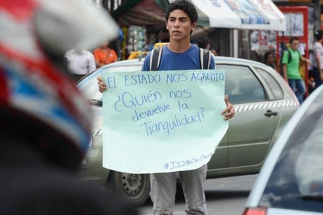 Flavio Latino, estudiante de León secuestrado
